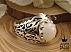 انگشتر نقره اپال رکاب شبکه ای مردانه دست ساز - 36370 - 1