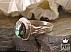 انگشتر نقره فیروزه نیشابوری ارزشمند مردانه - 36429 - 1