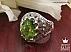 انگشتر نقره زبرجد زمرد زامبیا یاقوت آفریقایی طرح شاهانه مردانه - 36457 - 1