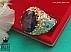 انگشتر نقره یاقوت آفریقایی زمرد زامبیا سلطنتی مردانه دست ساز - 36465 - 1
