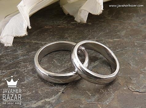 حلقه ازدواج نقره - 36557