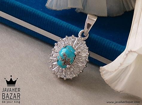 مدال نقره فیروزه نیشابوری طرح شهین - 36591