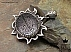 مدال نقره عقیق حکاکی و من یتق الله - 36612 - 1