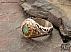 انگشتر نقره زمرد زامبیا شاهانه مردانه - 36613 - 1