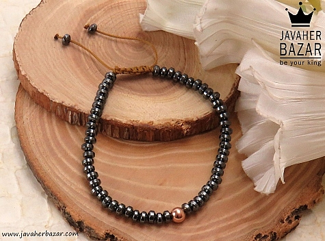 دستبند حدید طرح شبنم زنانه - 37254