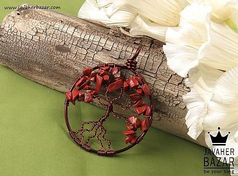مدال مس دلربا طرح درختچه - 39456