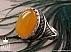 انگشتر نقره عقیق شرف الشمس مردانه - 40016 - 1