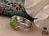 انگشتر نقره زبرجد چهارچنگ مردانه دست ساز - 41075 - 1