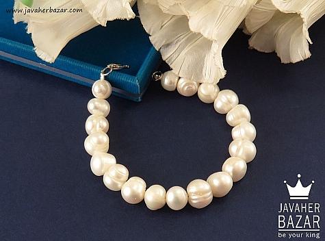 دستبند مروارید فاخر زنانه - 41133