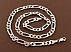 زنجیر نقره 55 سانتی مردانه - 41900 - 2