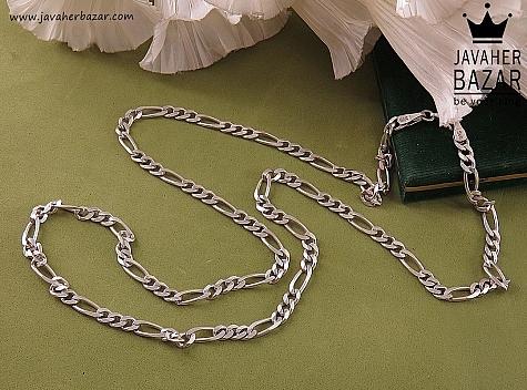 زنجیر نقره 65 سانتی - 41902