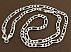 زنجیر نقره 60 سانتی - 41908 - 3