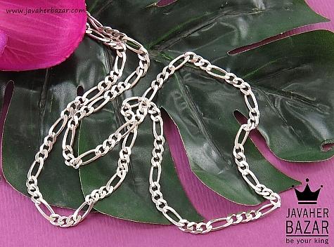 زنجیر نقره 60 سانتی - 41908