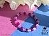 دستبند عقیق خوش رنگ زنانه - 42080 - 1