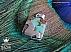 مدال نقره فیروزه نیشابوری چهارگوش جذاب دست ساز - 42271 - 1