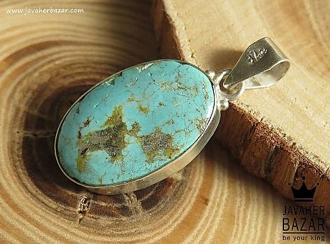 مدال فیروزه نیشابوری آبی