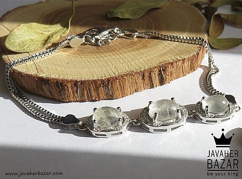 دستبند نقره در نجف لوکس زنانه - 43409