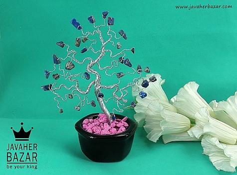 تندیس لاجورد گلدان - 44182