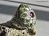 انگشتر نقره زبرجد یاقوت آفریقایی طرح سلطنتی مردانه - 44390 - 1
