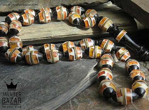 تسبیح کوک کشکول 33 دانه ارزشمند - 44443
