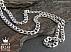 زنجیر نقره 60 سانتی - 45098 - 1