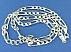 زنجیر نقره 60 سانتی - 45103 - 2