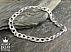 دستبند نقره 20 سانتی - 45108 - 1