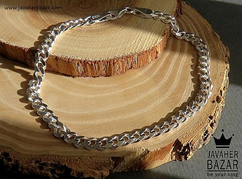 دستبند نقره 20 سانتی - 45128