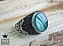 انگشتر نقره عقیق سبز طرح بهنام مردانه - 46805 - 1