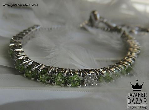عکس دستبند زبرجد
