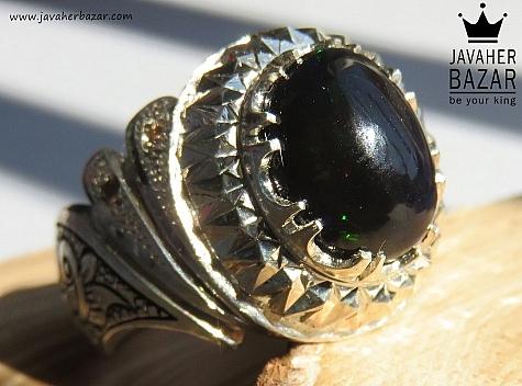 عکس انگشتر اپال سیاه