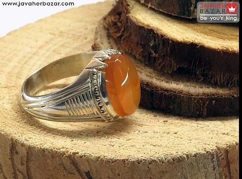 انگشتر نارنجی مردانه