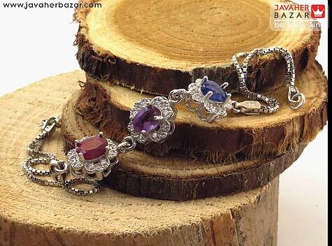 عکس دستبند یاقوت زنانه