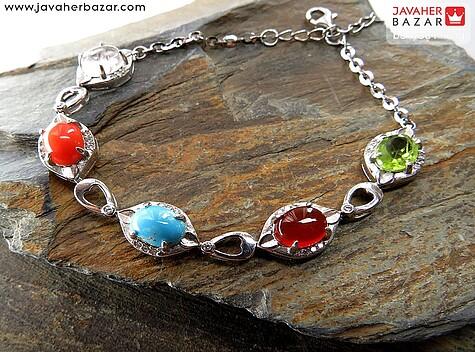 دستبند زبرجد زنانه