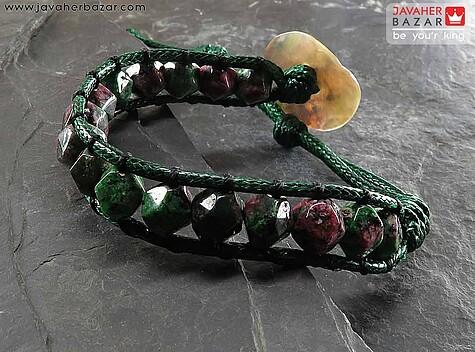 عکس دستبند سرپانتین سبز زنانه