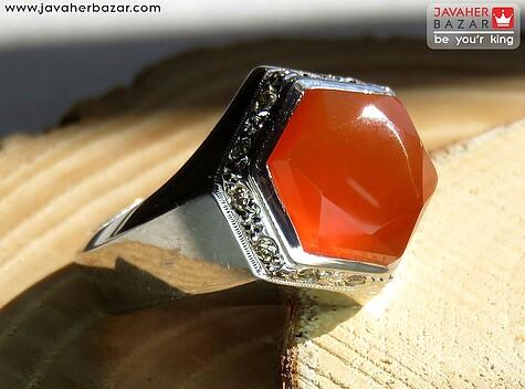 عکس انگشتر نارنجی