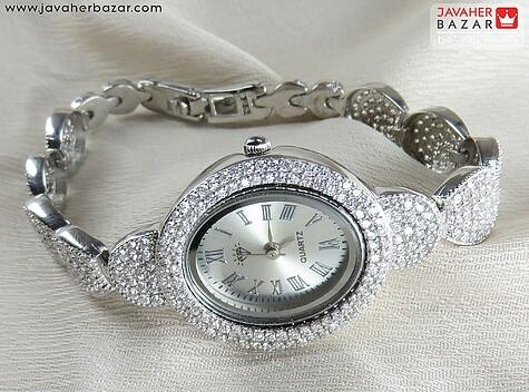 عکس ساعت نقره زنانه