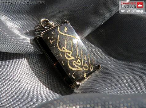 مدال عقیق سیاه