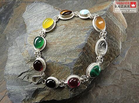 عکس دستبند مالاکیت زنانه