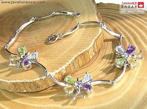 عکس دستبند توپاز زنانه