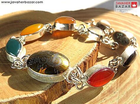 عکس دستبند حدید صینی زنانه
