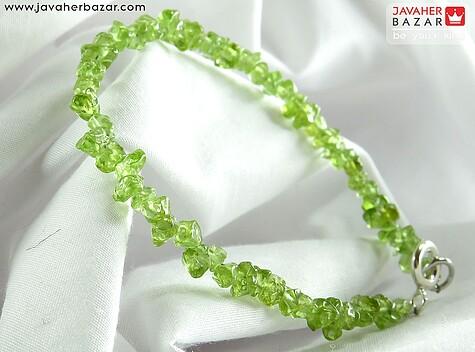 عکس دستبند زبرجد سبز زنانه