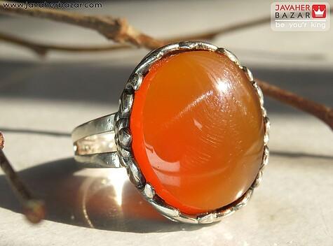 انگشتر نارنجی زنانه