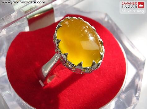 انگشتر زرد زنانه