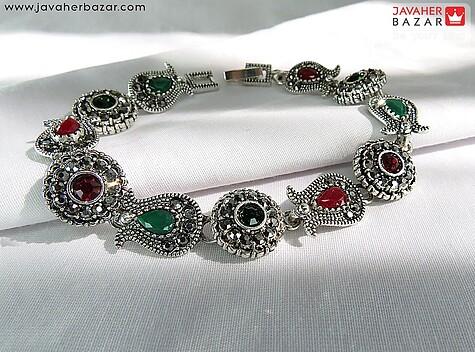 دستبند سبز زنانه
