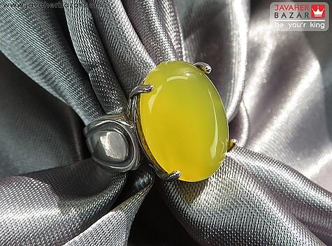 عکس انگشتر عقیق زرد زنانه