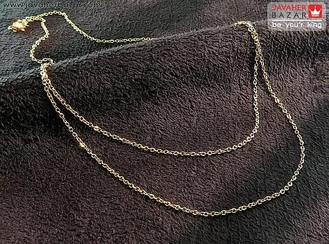 عکس زنجیر زرد زنانه