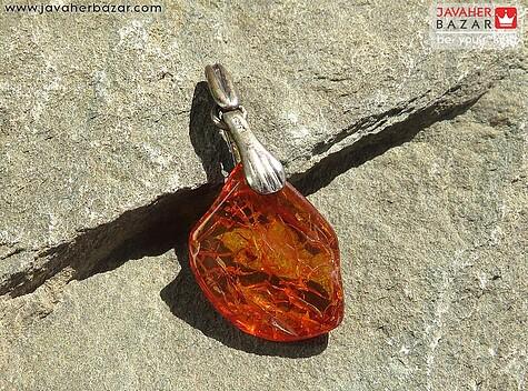 مدال کهربا نارنجی