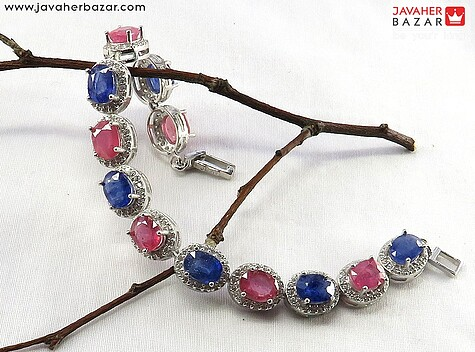 دستبند سنگ ماه تولد تیر