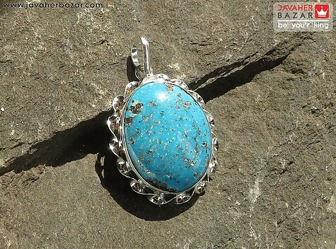 مدال فیروزه کرمانی زنانه
